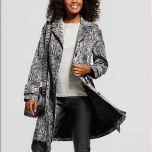 Who What Wear Snakeskin Trench